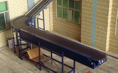 9. Automation conveyer for container loading